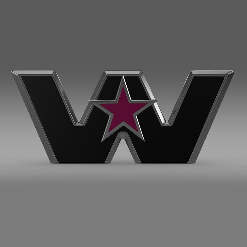 Western Star Logo 3d Model Max Obj 3ds Fbx C4d Lwo