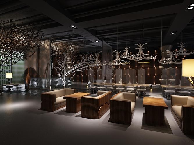 3d model cofffee room
