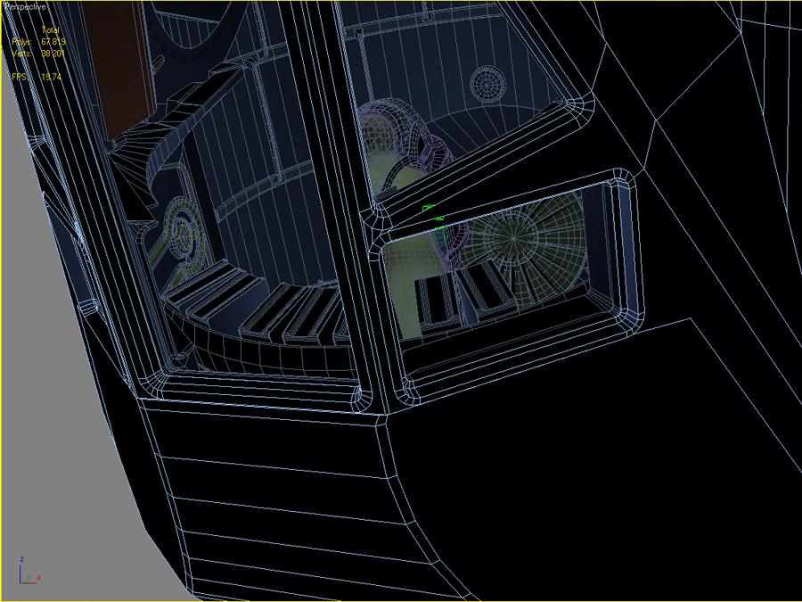 sci fi spacecraft cockpit single person - photo #49