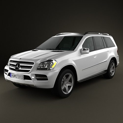 Mercedes benz gl class 2010 3d cgtrader for Mercedes benz suv models list
