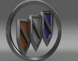 Buick new logo 3D model