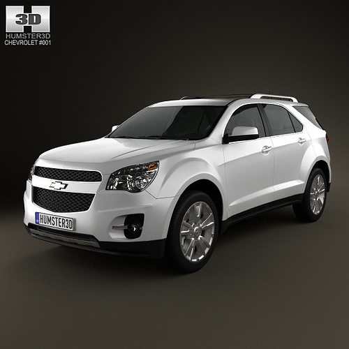 Chevrolet Equinox Suv: Chevrolet Equinox 3D Model