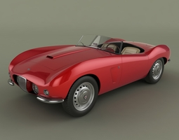 Arnolt Bristol Deluxe 3D Model