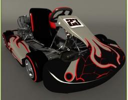 Go Kart 3D 3D Model