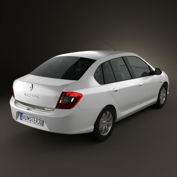 Renault Symbol 2010 3d Cgtrader