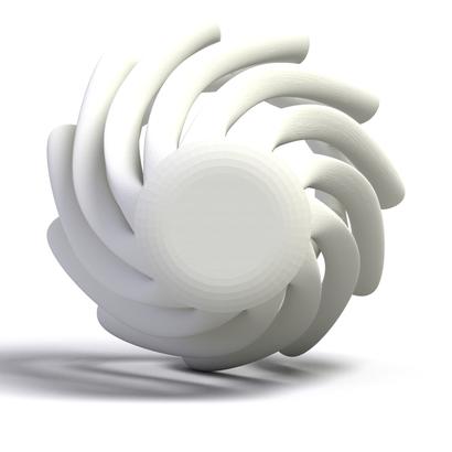 chapeau de lampe 2 3d model 3d printable. Black Bedroom Furniture Sets. Home Design Ideas