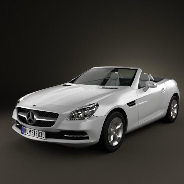 Mercedes-Benz SLK-Class R172 2012 InShare 3D Model .max