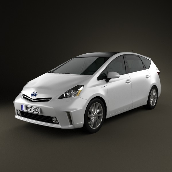 Best Tires For Toyota Prius: Toyota Prius V 3D Model