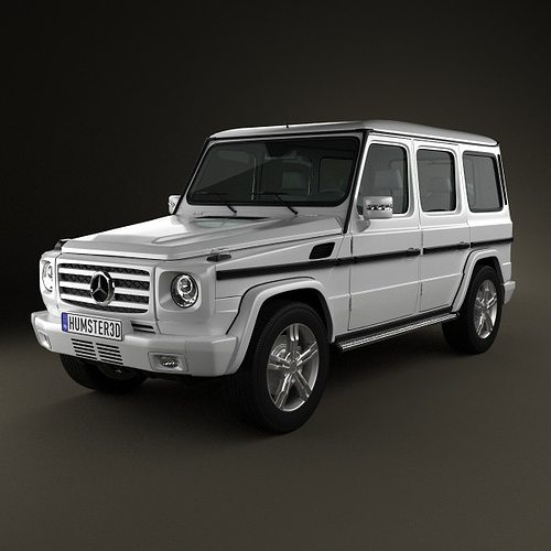 Mercedes benz g class 2011 3d cgtrader for Mercedes benz suv models
