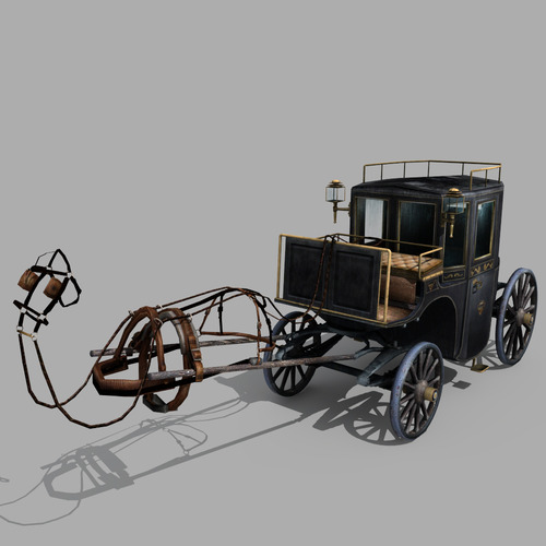 Carriage 023D model