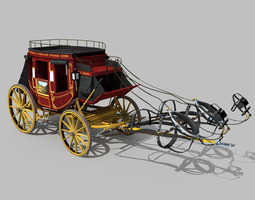 Carriage 01 3D model