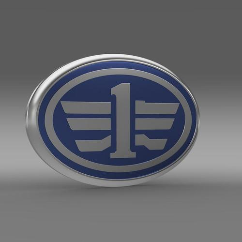 FAW Logo 3D Model .max .obj .3ds .fbx .c4d .lwo .lw .lws ...