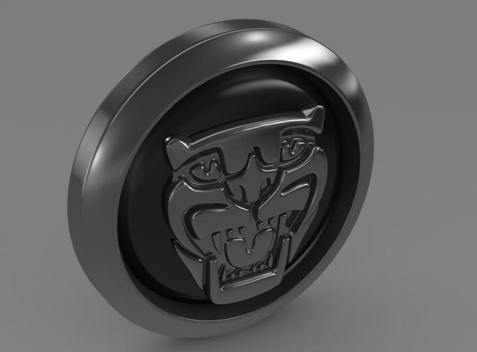 Jaguar new logo 3D Model .max .obj .3ds .fbx .c4d .lwo .lw ...