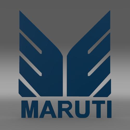 Maruti Logo 3D Model Max Obj 3ds Fbx C4d Lwo Lw