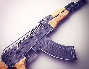 AK47 Assault Rifle Hi-Res 3D model