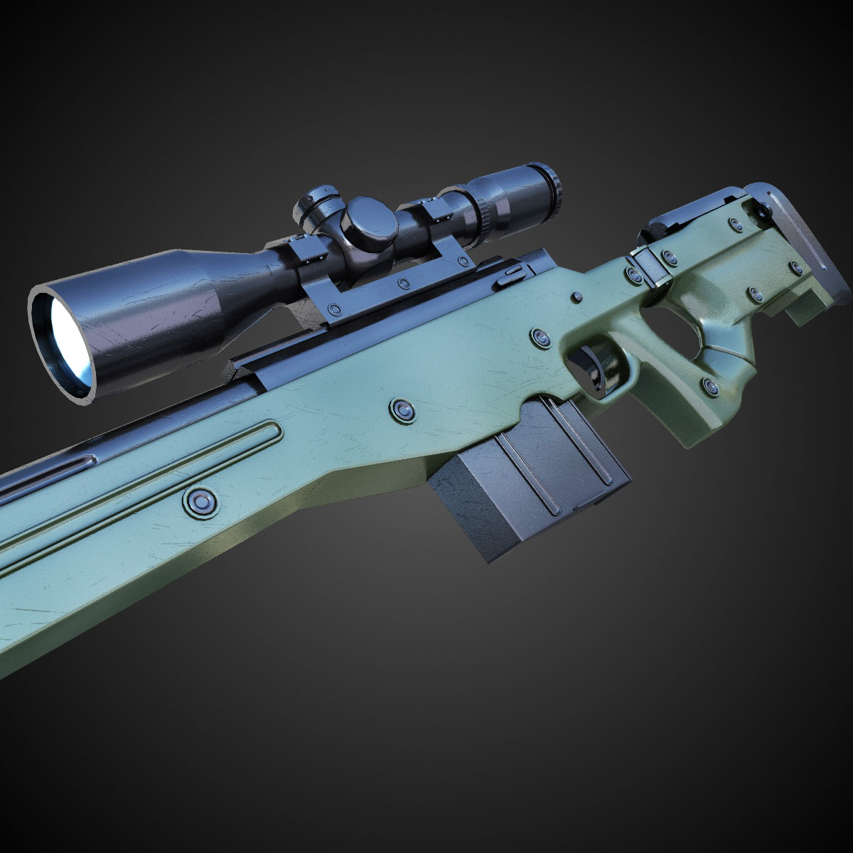 magnum sniper rifle - HD1200×1200