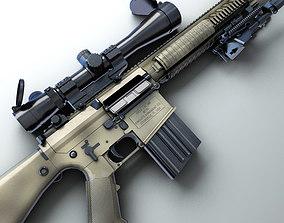3D model M110 SASS Hi-Res
