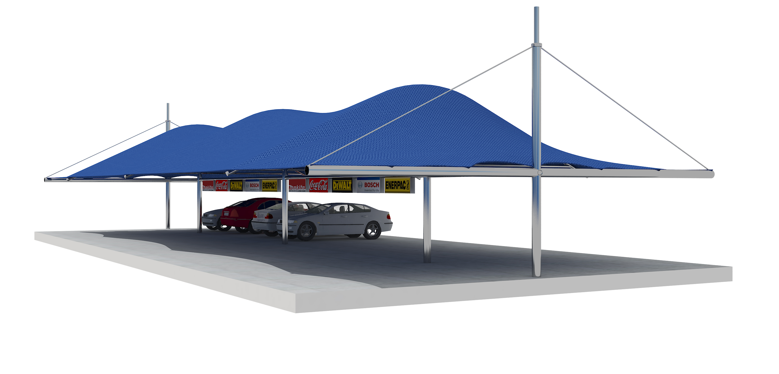 Car shed free 3d model max cgtrader for Car shed design