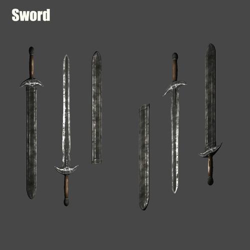 Sword Sheath3D model