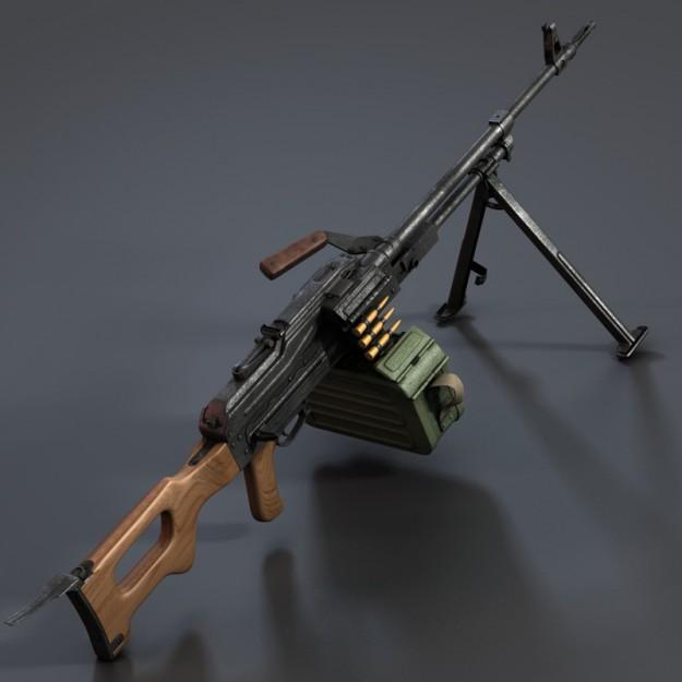 Как сделать 3д модель оружия
