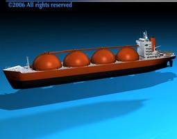 3d gas ship