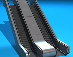 3d escalators