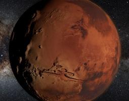 MARS MOONS 8K 3D Model