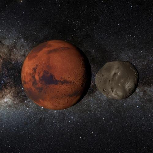 MARS MOONS 8K 3D Model animated .c4d - CGTrader.com