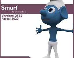 Smurf Model 3D Model