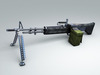 M60 Machine gun Hi-Res 3D Model