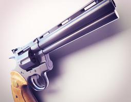 Magnum 357 Hi-Res 3D Model