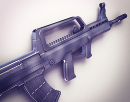 QBZ-95 Assault rifle Hi-Res 3D Model
