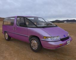 Family Minivan for Poser 3D