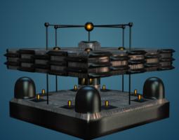 Sci-Fi Structure I 3D Model
