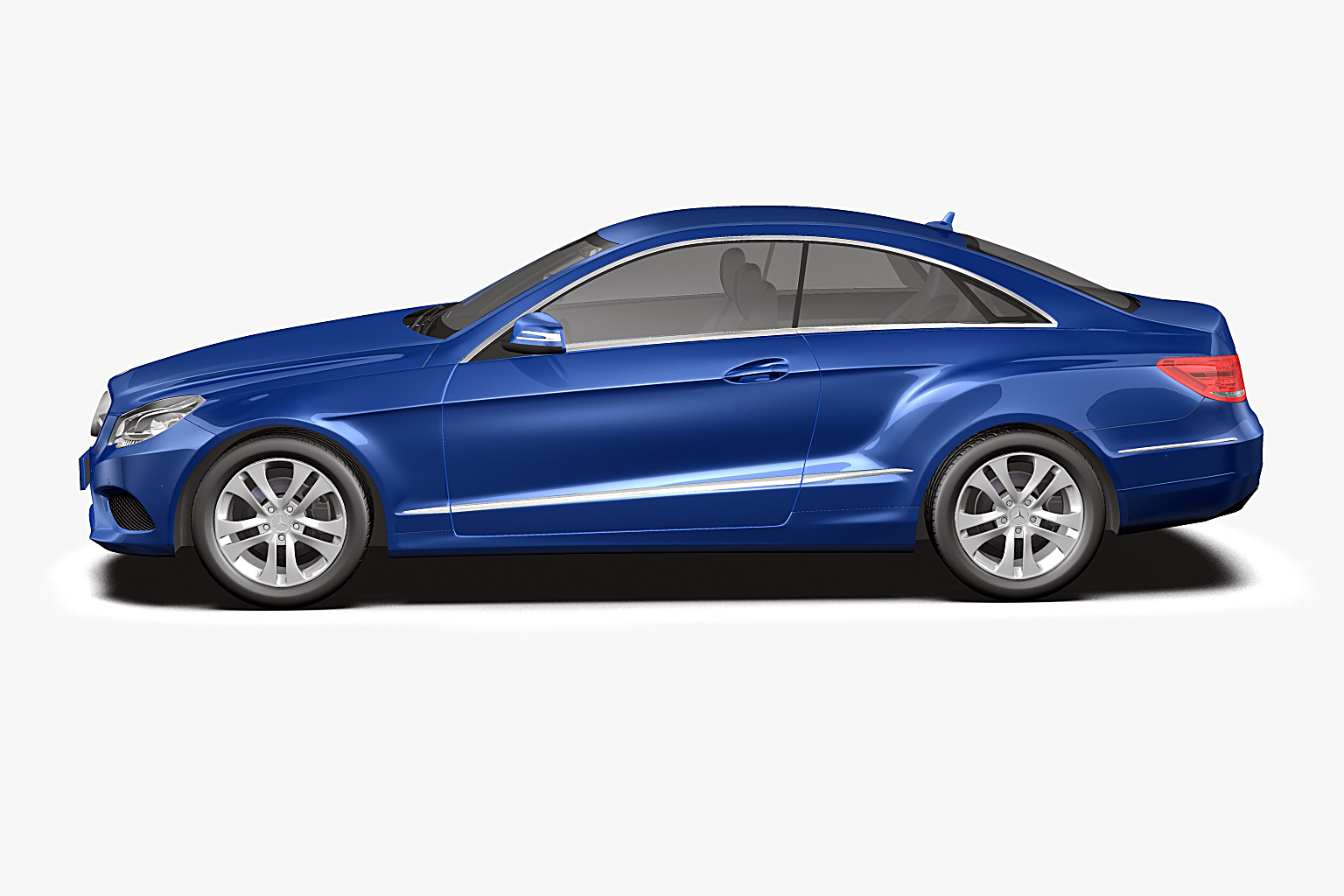 2014 Mercedes Benz E Class Coupe 3d Model Max Obj 3ds Fbx