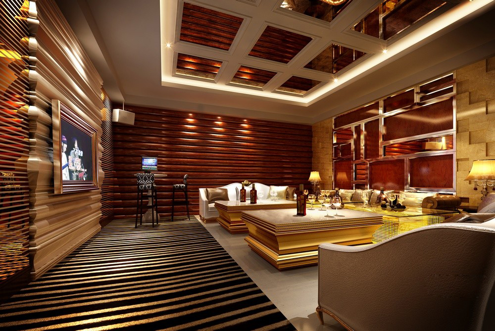 living room steakhouse luxurious restaurant 3d model max cgtrader 10332
