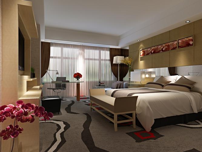 Modern Bedroom3D model