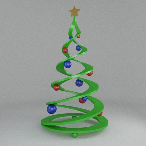 3D Printable Christmas Tree