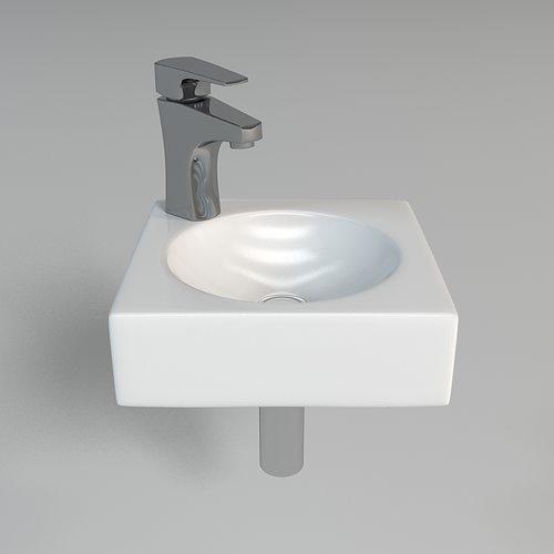 Bath 3d Model Sink Cgtrader