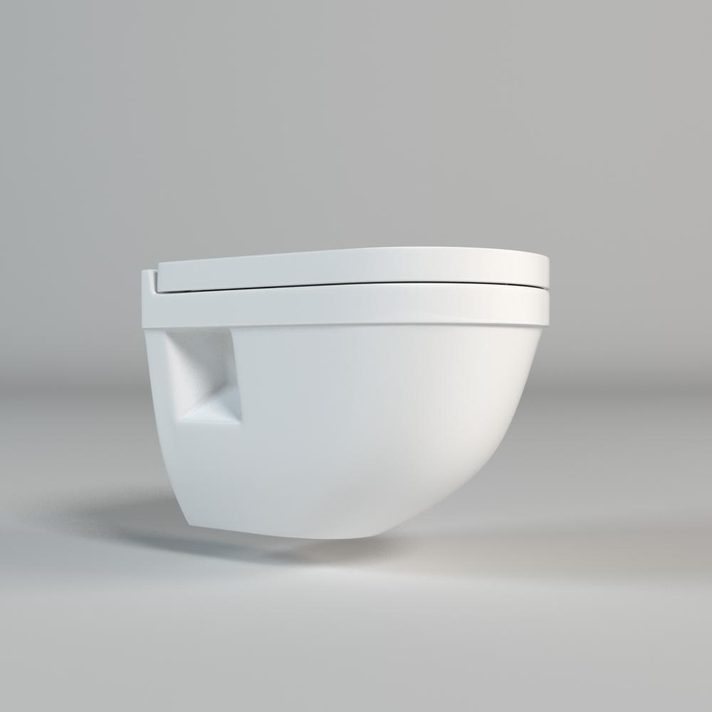 Toilet 001 3d model max fbx mtl - Toilet model ...