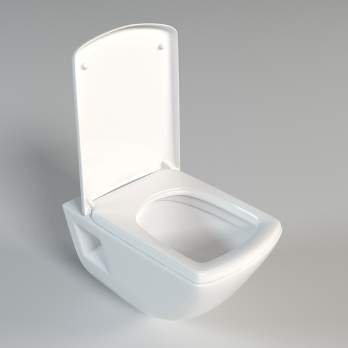 Toilet 0023D model