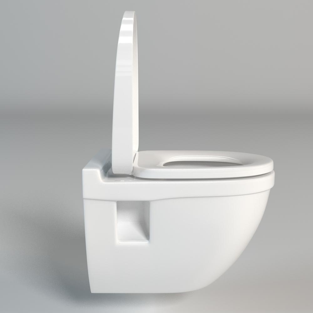 Toilet 004 3d model max fbx mtl - Toilet model ...