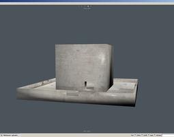 Bunker fbx 3D model