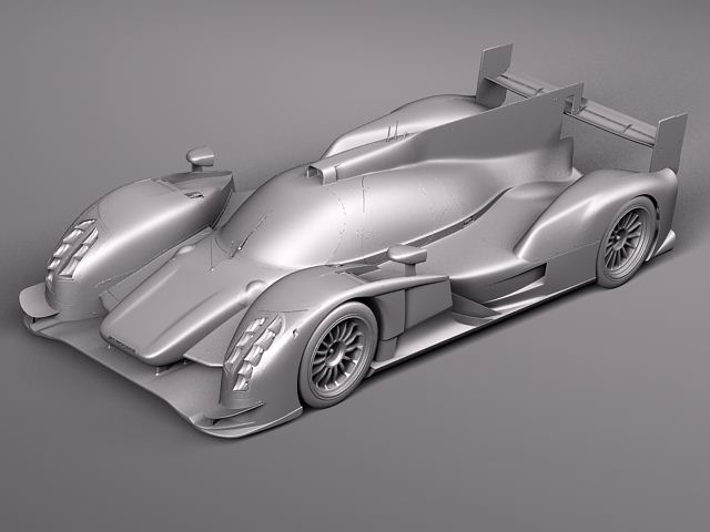 audi r18 2012 race car 3d model max obj 3ds fbx c4d. Black Bedroom Furniture Sets. Home Design Ideas