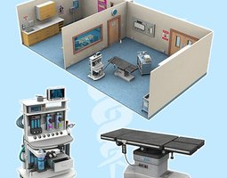 The Operating Theatre for Poser 3D