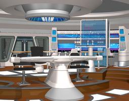 Starship Bridge XI for Poser 3D model