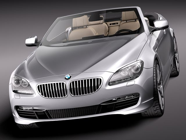 BMW 6 Convertible 2012