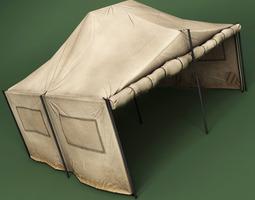 Tent model 3D Model