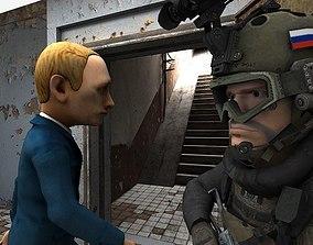 KGB Officer 3D model