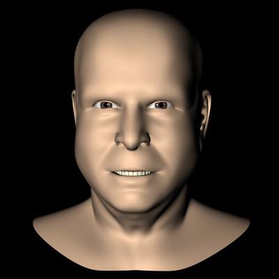 John McCain3D model